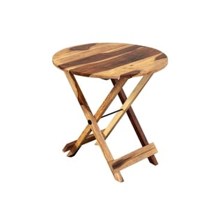 Link to Solid Sheesham Wood Round Table, Harvest Similar Items in Living Room Furniture