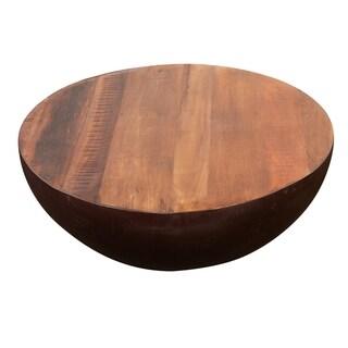 Thrum Natural Round Coffee Table
