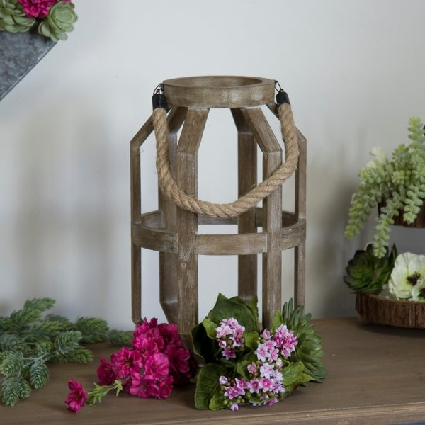 """Wooden candle holders 9"""""""