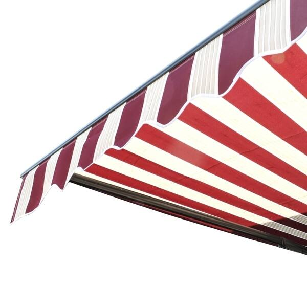 competitive price 9a1cd f5a47 Shop ALEKO Motorized Half Cassette Retractable Patio Awning ...