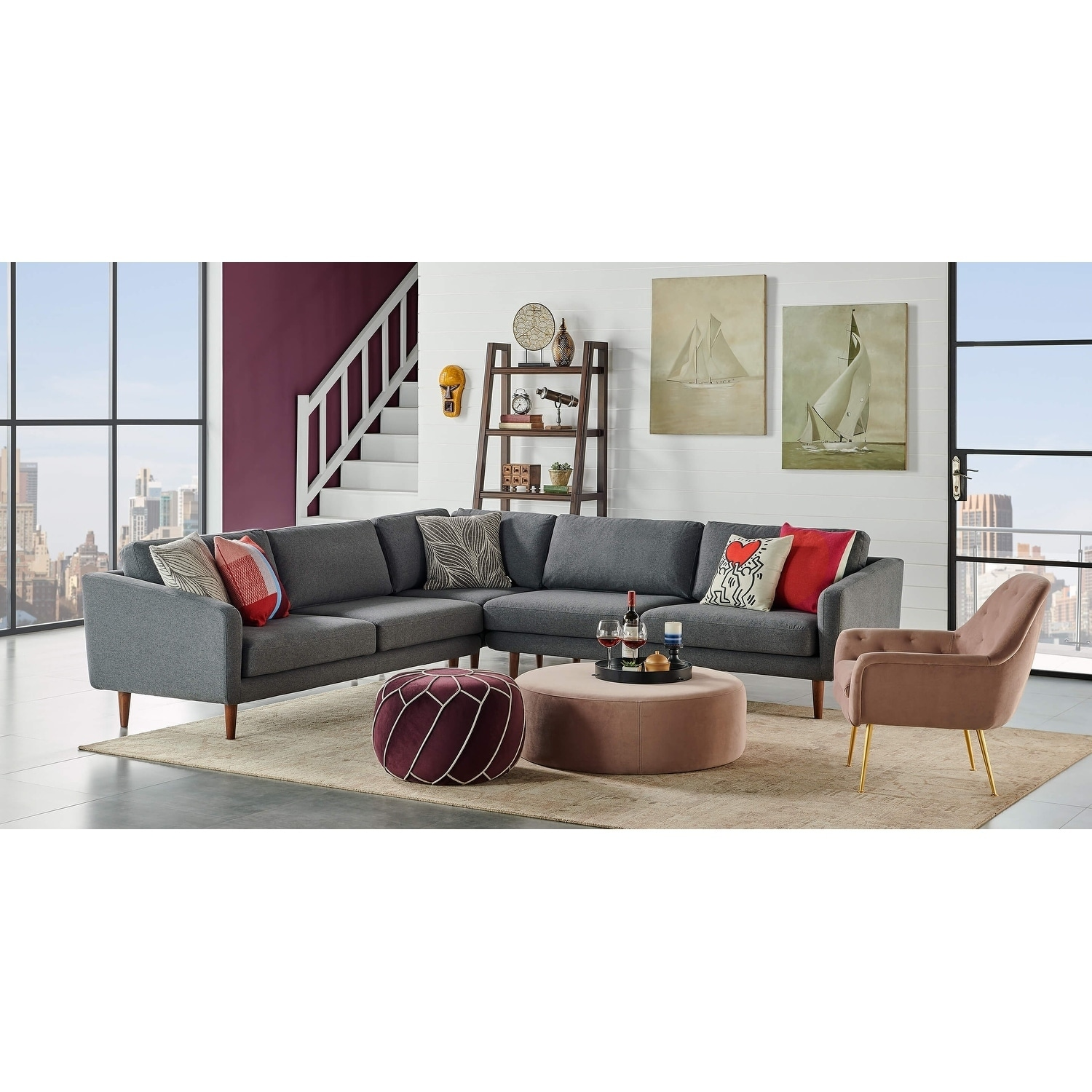 Fantastic Sectional Sofa Living Room Furniture Find Great Furniture Pabps2019 Chair Design Images Pabps2019Com