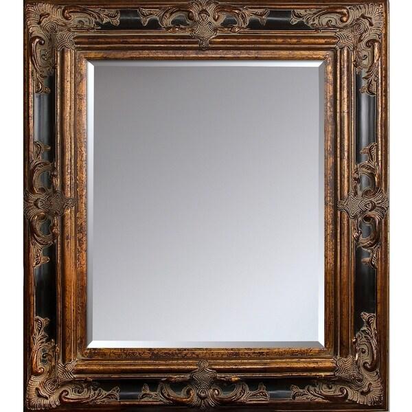 """overstockArt Excalibur Frame Mirror - 35.5"""" x 31.5"""""""