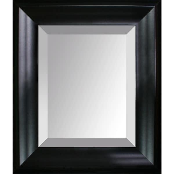 overstockArt Black Matte Frame Mirror