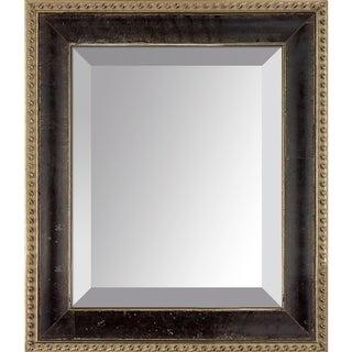 overstockArt Antiqued Athenaeum Scoop Frame Mirror