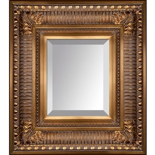 overstockArt Regal Gold Frame Mirror