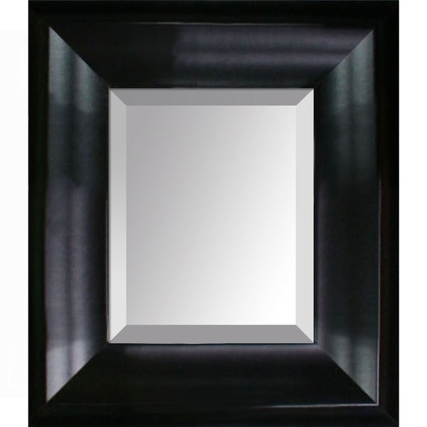 overstockArt Black Matte King Frame Mirror