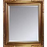 overstockArt Florentine Gold Frame Mirror