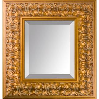 overstockArt Sicilian Gold Frame Mirror