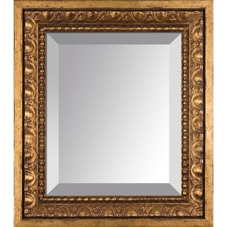 overstockArt Versailles Gold Frame Mirror