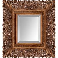 overstockArt Burgeon Gold Frame Mirror