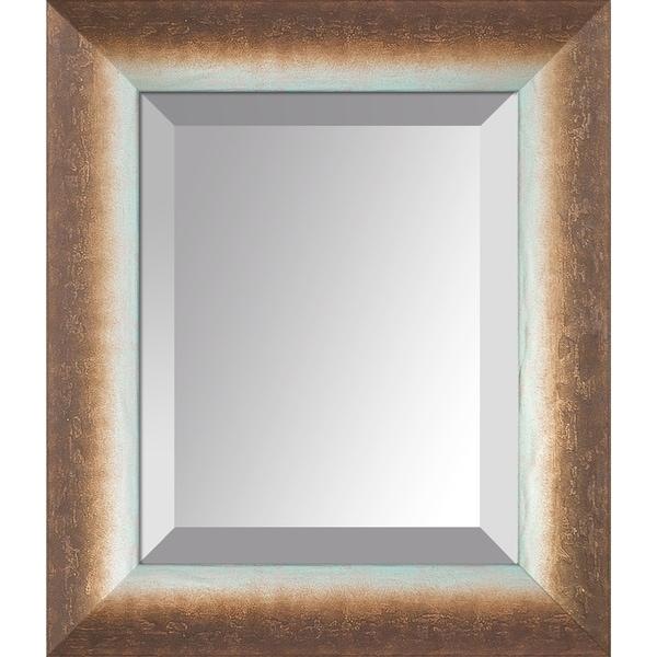overstockArt Spoleto Bronze Frame Mirror