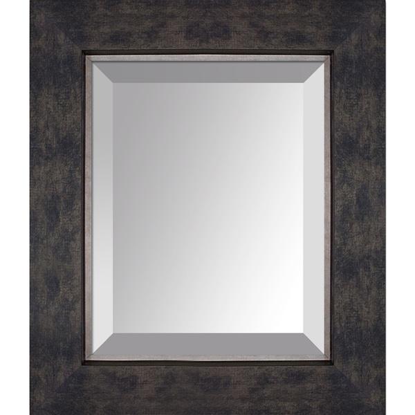 overstockArt Suede Premier Frame Mirror