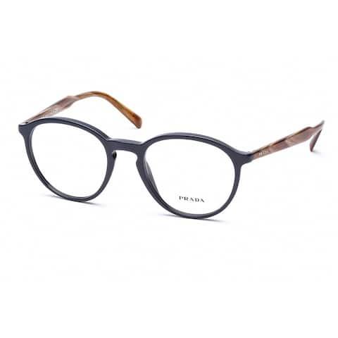PRADA PR13TV Unisex Navy Frame Clear Lens Eyeglasses