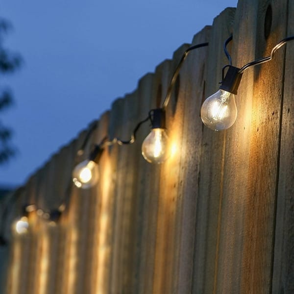 String Lights Outdoor Hanging