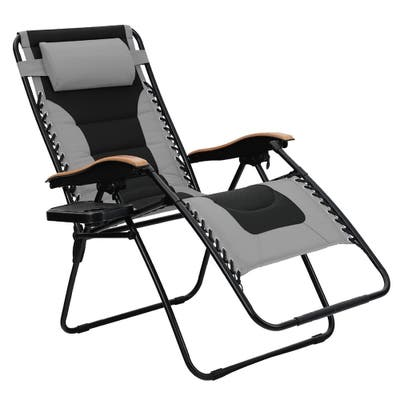 Folding Outdoor Chaise Lounges