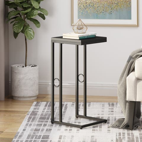 Essex Modern Faux Wood End Table by Christopher Knight Home