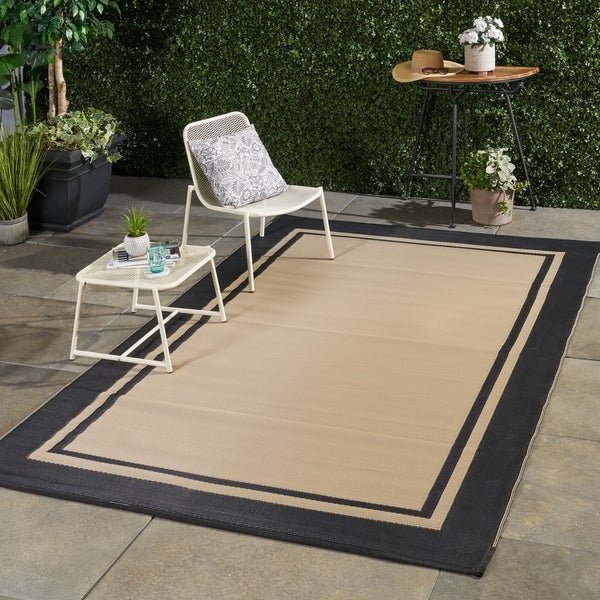 Brome Outdoor Modern Scatter Rug by Christopher Knight Home - 6' X 9'. Opens flyout.