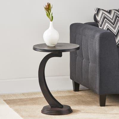 Bronze Finish Coffee Console Sofa