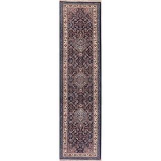 Bidjar Oriental Hand Knotted Carpet Traditional Indian Wool Rug