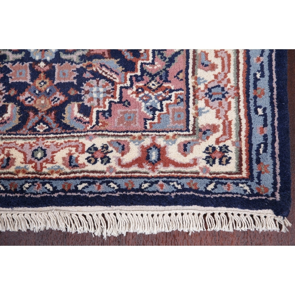Bidjar Oriental Hand Knotted Carpet Traditional Indian Wool Rug
