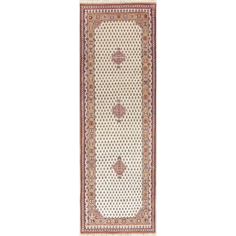 Persian Traditional Rug Hand Knotted Indian Oriental Wool Carpet