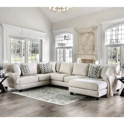 Buy Chaise Sectional Sofas Sale Online at Overstock | Our ...