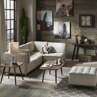 INK+IVY Grant Grey Multi Modular Sectional Corner Sofa