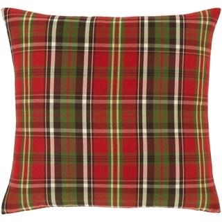 Atoka Plaid Tartan 18-inch Throw Pillow Cover