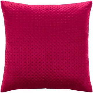 The Curated Nomad Sawyer Velvet Stitched 20-inch Throw Pillow Cover