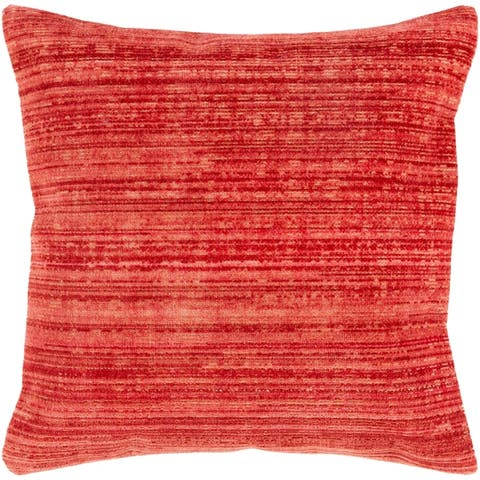 Bally Stripe Cotton Blend 21-inch Throw Pillow Cover
