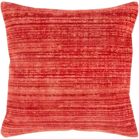 Bally Stripe Cotton Blend 27-inch Poly or Feather Down Throw Pillow