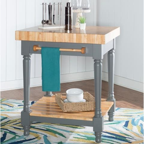 The Curated Nomad Contourge Kitchen Island
