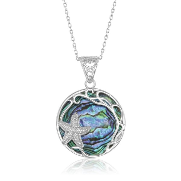 Real Pure Sterling Silver jewelry Mother Pendant AmaranTeen