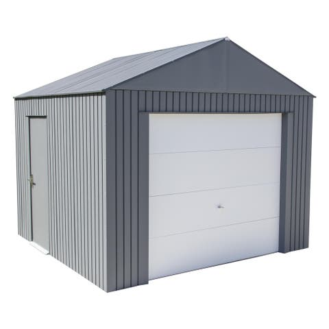 Sojag Everest Garage in Charcoal
