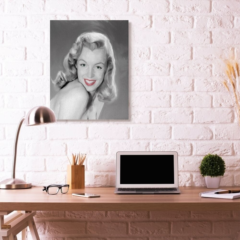 Shop Stupell Industries Young Marilyn Vintage Hollywood Movie Star