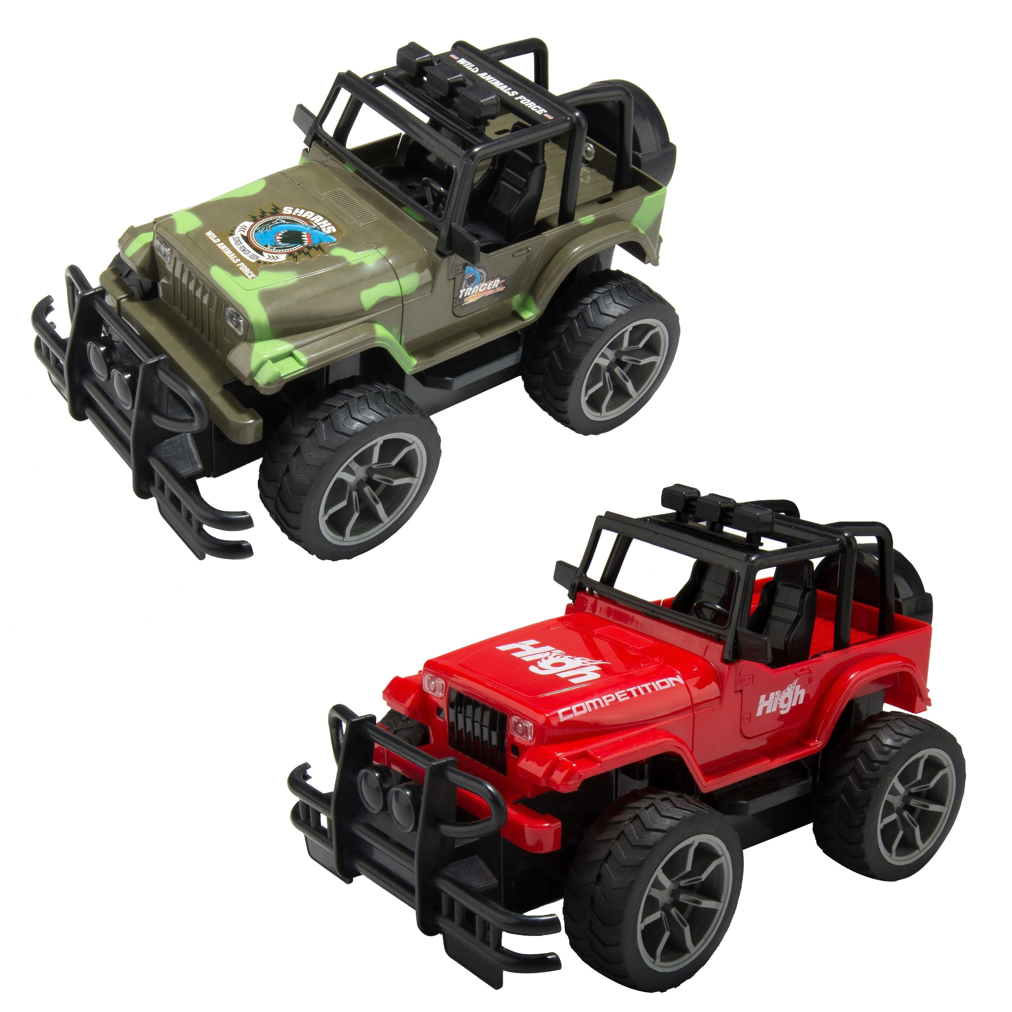 Remote Control Car Rc Crawler Trucks High Speed Off Road Jeep Overstock 29130104 8 11 Years Unisex Red