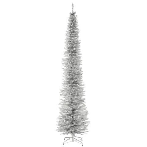 9 ft. Slver Tinsel Tree