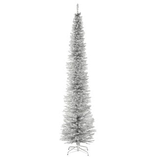 9 ft. Slver Tinsel Tree