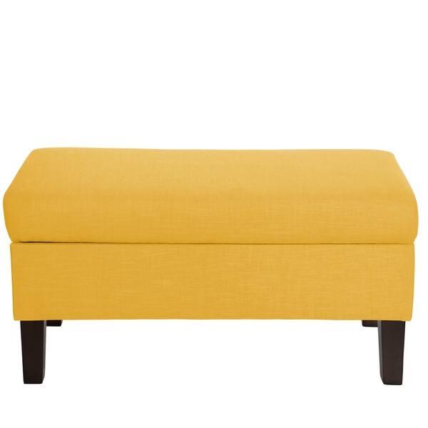Astounding Shop Skyline Furniture Storage Bench In Linen 39W X 19D Spiritservingveterans Wood Chair Design Ideas Spiritservingveteransorg