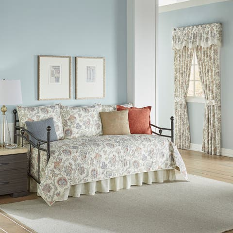Waverly Arezzo Daybed 5 Piece Quilt Set