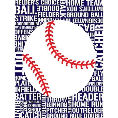 CANVAS Sports - Baseball by Designs by Tenisha