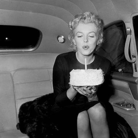 CANVAS Happy Birthday Marilyn Monroe
