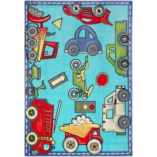 Taylor & Olive Reed Car and Truck Area Rug
