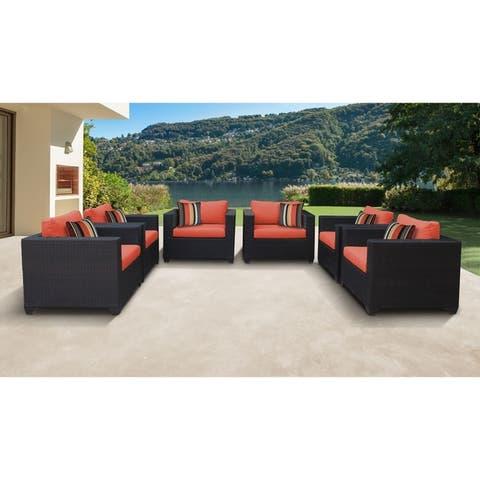 Belle 6 Piece Outdoor Wicker Patio Furniture Set 06e