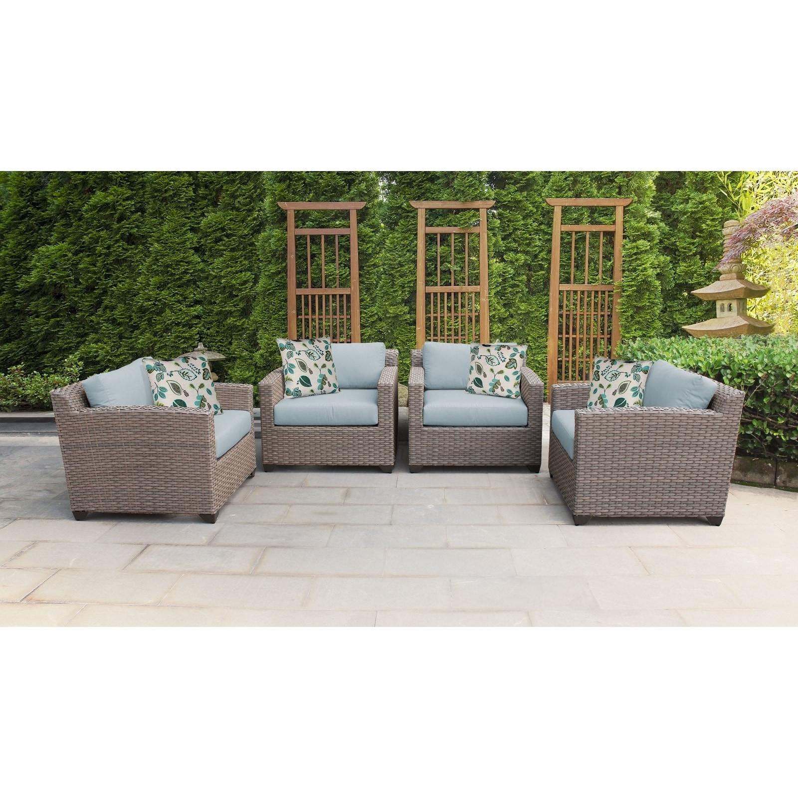 Outdoor Wicker Patio Furniture Set 04i