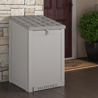 Cosco Outdoor Living BoxGuard Lockable Package Delivery and Storage Box