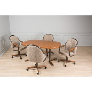 Casual Dining Beige 5 piece Table and Chairs Set