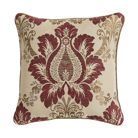 Croscill Esmeralda Chenille Reversible Decorative Pillow