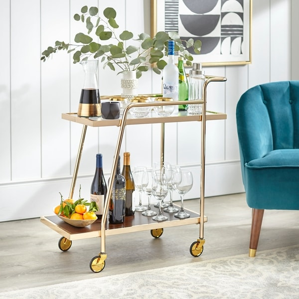 angelo:HOME Dorset Bar Cart