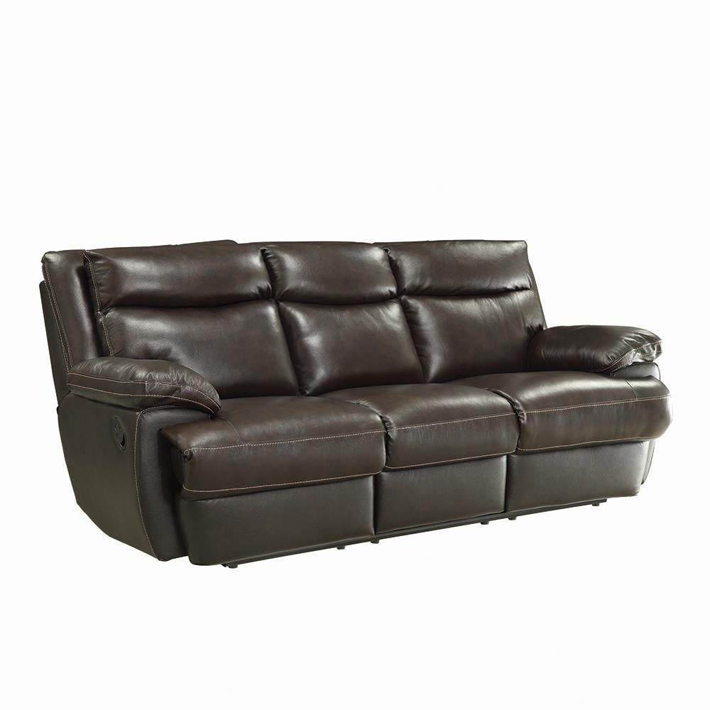 Upholstered Pillow Top Arm Sofa